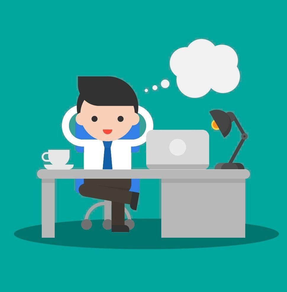 La tranquilidad de la oficina sin paples