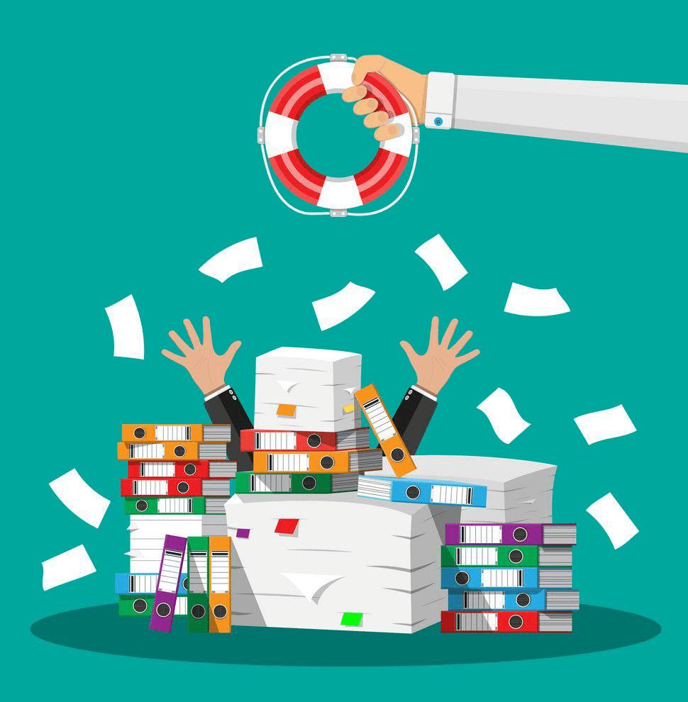 El pesado costo del papel