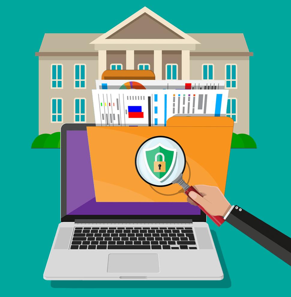 Seguridad, confidencialidad y cumplimiento en la administración pública